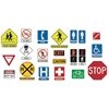 TREND ENTERPRISES BB SET SURVIVAL SIGNS & SYMBOLS 32 SIGNS