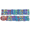 SCHOLASTIC TEACHING RESOURCES BB SET BIG ALPHABET LETTERS UPPER & LOWER CASE LETTERS