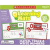 MATCH TRACE & WRITE NUMBERS LEARNING MATS