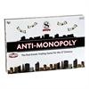 UNIVERSITY GAMES ANTI-MONOPOLY GAME