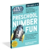 STAR WARS WORKBOOK PRESCHOOL NUMBER FUN