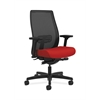 HON Endorse Mesh Mid-Back Task Chair | Built-In Lumbar | Synchro-Tilt, Seat Glide | Tomato Fabric