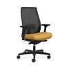 HON Endorse Mesh Mid-Back Task Chair | Built-In Lumbar | Synchro-Tilt, Seat Glide | Mustard Fabric
