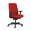 HON Endorse Mid-Back Task Chair | Fabric Outer Back | Built-In Lumbar | Synchro-Tilt, Seat Glide | Tomato Fabric