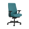 HON Endorse Mid-Back Task Chair | Fabric Outer Back | Built-In Lumbar | Synchro-Tilt, Seat Glide | Glacier Fabric
