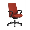 HON Endorse Mid-Back Task Chair | Fabric Outer Back | Built-In Lumbar | Synchro-Tilt, Seat Glide | Poppy Fabric