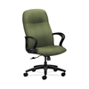 HON Gamut Executive High-Back Chair | Center-Tilt | Fixed Arms | Clover Fabric