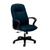 HON Gamut Executive High-Back Chair | Center-Tilt | Fixed Arms | Mariner Fabric