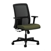 HON Ignition Low-Back Mesh Task Chair | Center-Tilt | Adjustable Arms | Olivine Fabric