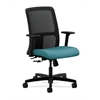 HON Ignition Low-Back Mesh Task Chair | Center-Tilt | Adjustable Arms | Glacier Fabric