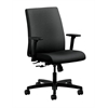 HON Ignition Low-Back Task Chair | Center-Tilt | Adjustable Arms | Onyx Fabric