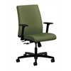 HON Ignition Low-Back Task Chair | Center-Tilt | Adjustable Arms | Clover Fabric