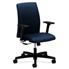 Ignition Low-Back Task Chair | Center-Tilt | Adjustable Arms | Mariner Fabric