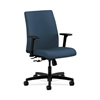 HON Ignition Low-Back Task Chair | Center-Tilt | Adjustable Arms | Jet Fabric