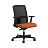 HON Ignition Low-Back Mesh Task Chair | Synchro-Tilt | Adjustable Arms | Tangerine Fabric