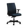 HON Ignition Low-Back Task Chair | Synchro-Tilt | Adjustable Arms | Blue Fabric