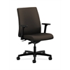 HON Ignition Low-Back Task Chair | Synchro-Tilt | Adjustable Arms | Espresso Fabric