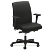HON Ignition Low-Back Task Chair | Synchro-Tilt | Adjustable Arms | Black Fabric