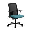 HON Ignition Low-Back Mesh Task Chair | Synchro-Tilt, Back Angle | Adjustable Arms | Glacier Fabric
