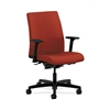 HON Ignition Low-Back Task Chair | Synchro-Tilt, Back Angle | Adjustable Arms | Poppy Fabric