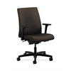 HON Ignition Low-Back Task Chair | Synchro-Tilt, Back Angle | Adjustable Arms | Espresso Fabric