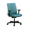 HON Ignition Low-Back Task Chair | Synchro-Tilt, Back Angle | Adjustable Arms | Glacier Fabric