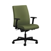 HON Ignition Low-Back Task Chair | Synchro-Tilt, Back Angle | Adjustable Arms | Clover Fabric