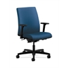 HON Ignition Low-Back Task Chair | Synchro-Tilt, Back Angle | Adjustable Arms | Regatta Fabric