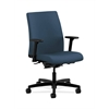 HON Ignition Low-Back Task Chair | Synchro-Tilt, Back Angle | Adjustable Arms | Jet Fabric