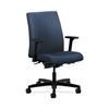 HON Ignition Low-Back Task Chair | Synchro-Tilt, Back Angle | Adjustable Arms | Ocean Fabric