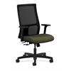 HON Ignition Mid-Back Mesh Task Chair   Center-Tilt   Adjustable Arms   Olivine Fabric