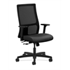 HON Ignition Mid-Back Mesh Task Chair | Center-Tilt | Adjustable Arms | Onyx Fabric