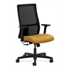 HON Ignition Mid-Back Mesh Task Chair | Center-Tilt | Adjustable Arms | Mustard Fabric