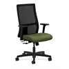 HON Ignition Mid-Back Mesh Task Chair   Center-Tilt   Adjustable Arms   Clover Fabric