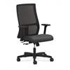 HON Ignition Mid-Back Mesh Task Chair | Center-Tilt | Adjustable Arms | Charcoal Fabric