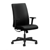 HON Ignition Mid-Back Task Chair | Center-Tilt | Adjustable Arms | Black Fabric