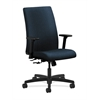 HON Ignition Mid-Back Task Chair | Center-Tilt | Adjustable Arms | Blue Fabric
