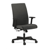 HON Ignition Mid-Back Task Chair | Center-Tilt | Adjustable Arms | Onyx Fabric