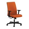 HON Ignition Mid-Back Task Chair | Center-Tilt | Adjustable Arms | Tangerine Fabric
