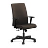 HON Ignition Mid-Back Task Chair | Center-Tilt | Adjustable Arms | Espresso Fabric