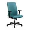 HON Ignition Mid-Back Task Chair | Center-Tilt | Adjustable Arms | Glacier Fabric