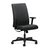 HON Ignition Mid-Back Task Chair | Center-Tilt | Adjustable Arms | Charcoal Fabric