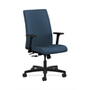 HON Ignition Mid-Back Task Chair | Center-Tilt | Adjustable Arms | Jet Fabric