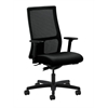 HON Ignition Mid-Back Mesh Task Chair | Synchro-Tilt | Adjustable Arms | Black Fabric