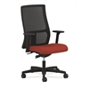 Ignition Mid-Back Mesh Task Chair | Synchro-Tilt | Adjustable Arms | Poppy Fabric