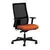 HON Ignition Mid-Back Mesh Task Chair | Synchro-Tilt | Adjustable Arms | Tangerine Fabric