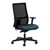 HON Ignition Mid-Back Mesh Task Chair | Synchro-Tilt | Adjustable Arms | Gray Fabric