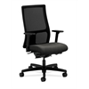 HON Ignition Mid-Back Mesh Task Chair | Synchro-Tilt, Back Angle | Adjustable Arms | Gray Fabric