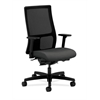 HON Ignition Mid-Back Mesh Task Chair | Synchro-Tilt, Back Angle | Adjustable Arms | Iron Ore Fabric