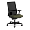 HON Ignition Mid-Back Mesh Task Chair | Synchro-Tilt, Back Angle | Adjustable Arms | Olivine Fabric